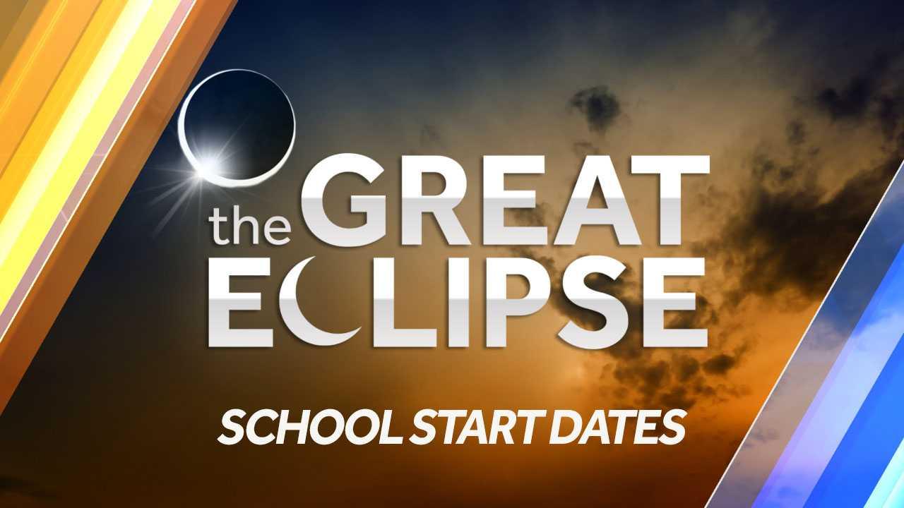 School start dates