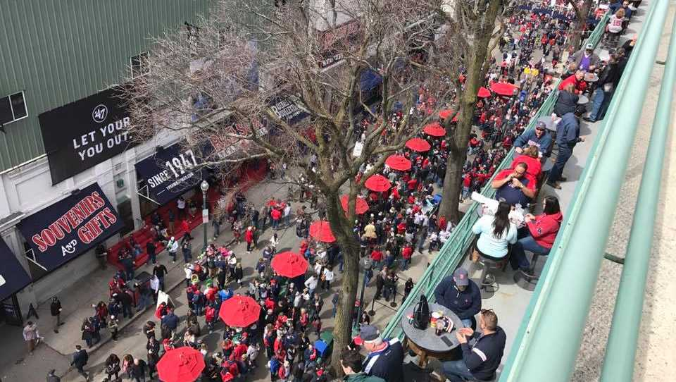 Fenway Park Opening Day 2017