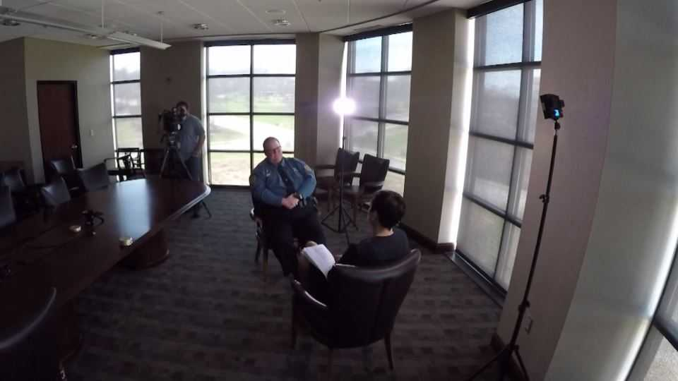 Deputy Scott Wood interview with Lara Moritz