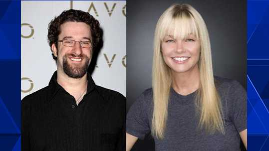 Dustin Diamond & Julie McCullough