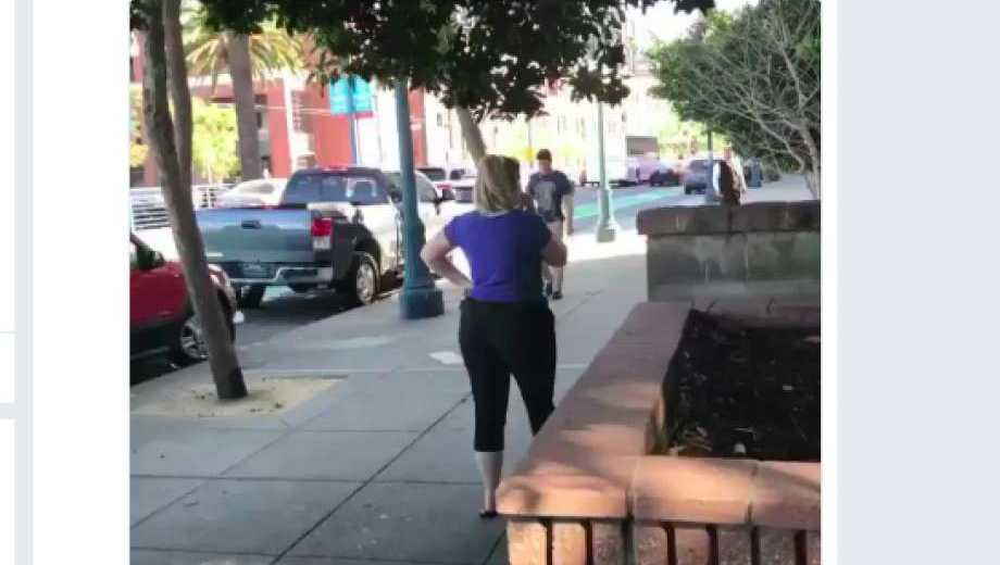 A video of an altercation in San Francisco went viral Saturday.