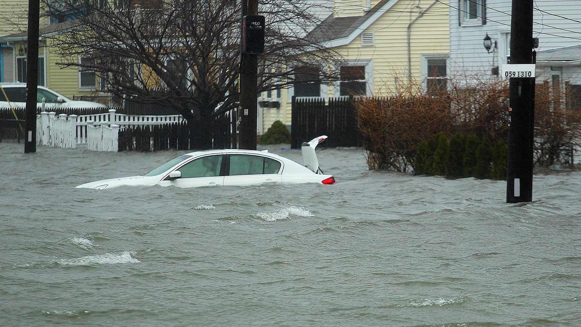 Sea Street Quincy Flooding
