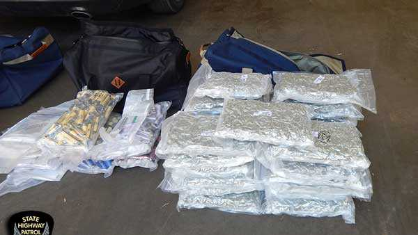 Traffic stop leads to seizure of $1.06 million worth of drugs