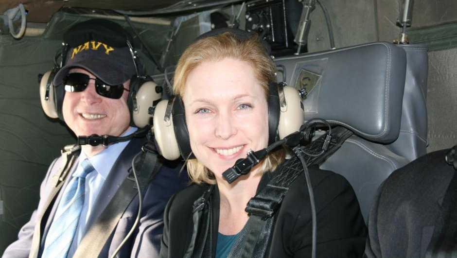 Senators John McCain & Kirsten Gillibrand