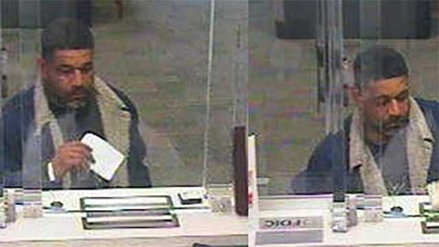 Baltimore bank robber sought by FBI
