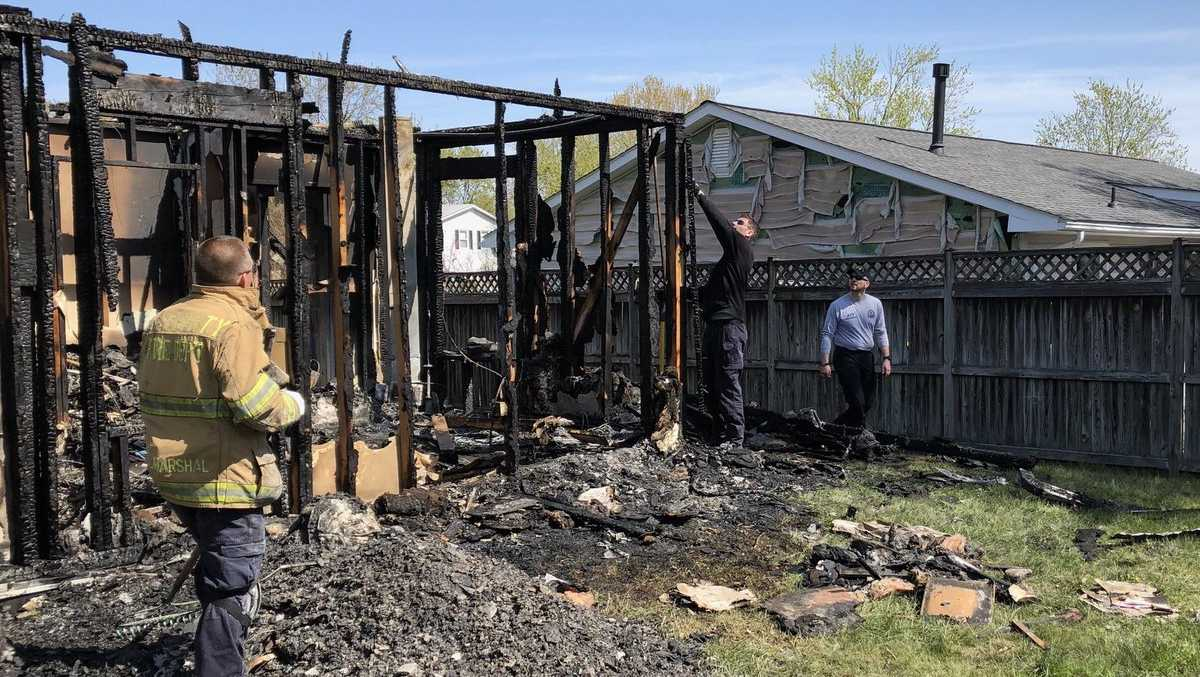 Severn group home fire