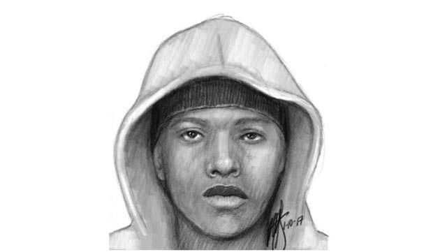 Sexual assault suspect sketch