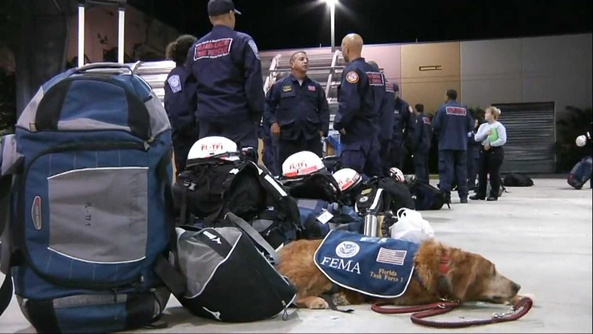 IN water rescue teams heads to Texas