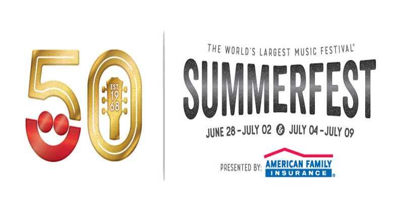 50th Summerfest logo