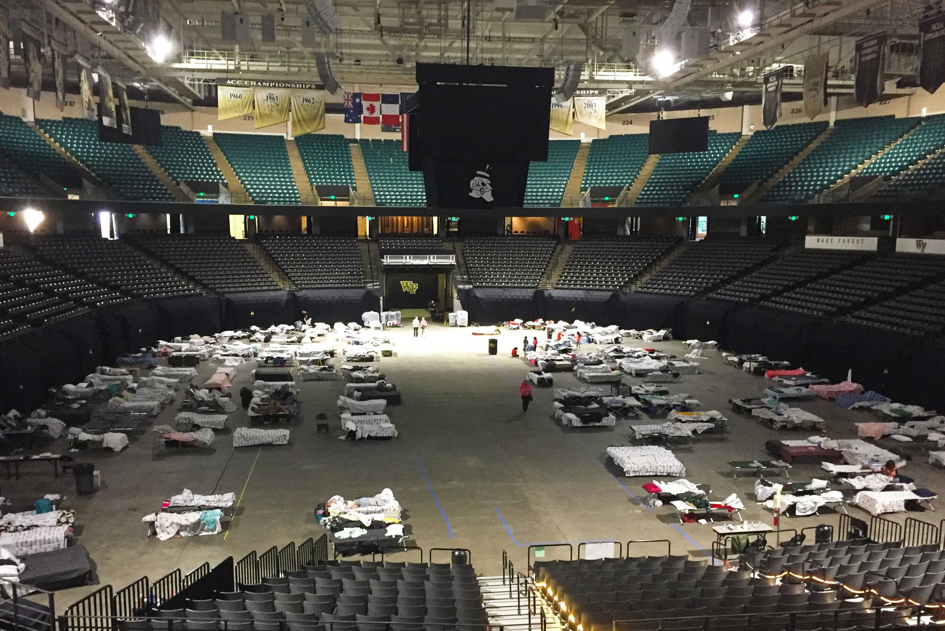 Red Cross and its partners preparing to close LJVM Coliseum shelter