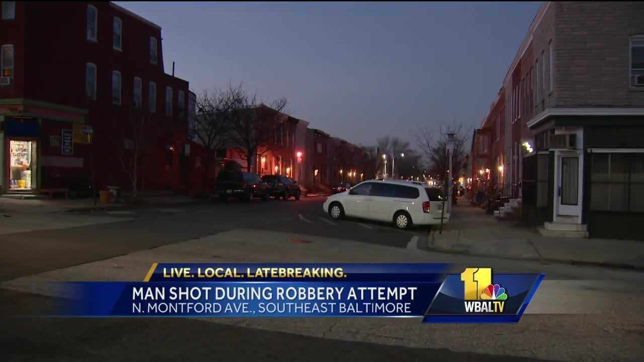 Montford Avenue shooting