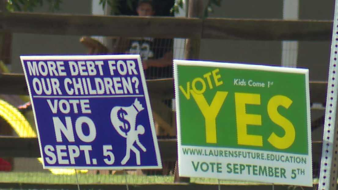 Laurens County School Bond Referendum