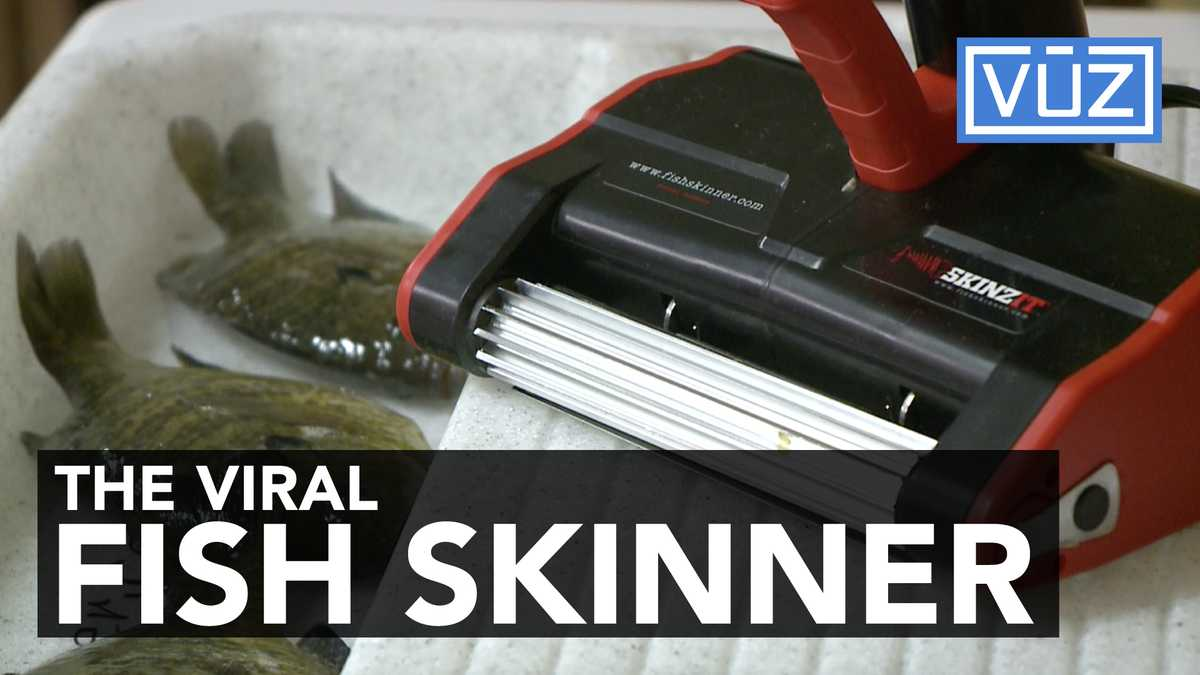 This automatic fish skinner is a must have for every for Skinzit fish skinner