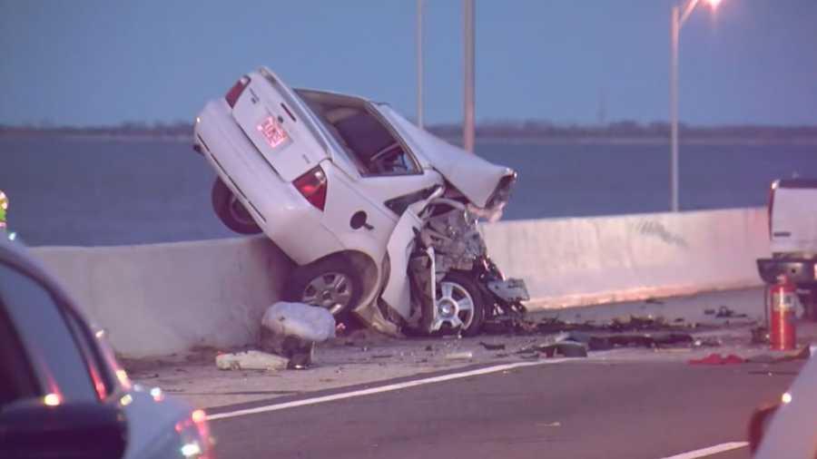 Wrong Way Driver Killed In Crash On Sunshine Skyway Bridge