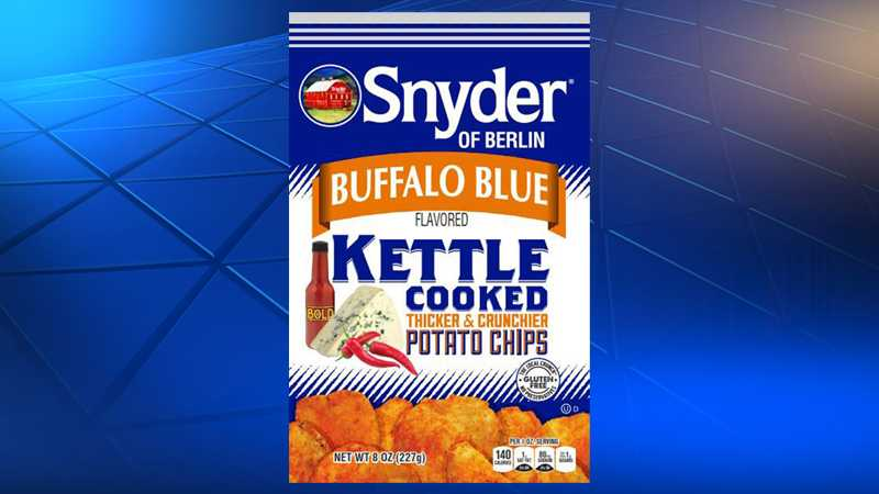 Snyder of Berlin Buffalo Blue Kettle Cooked Potato Chips