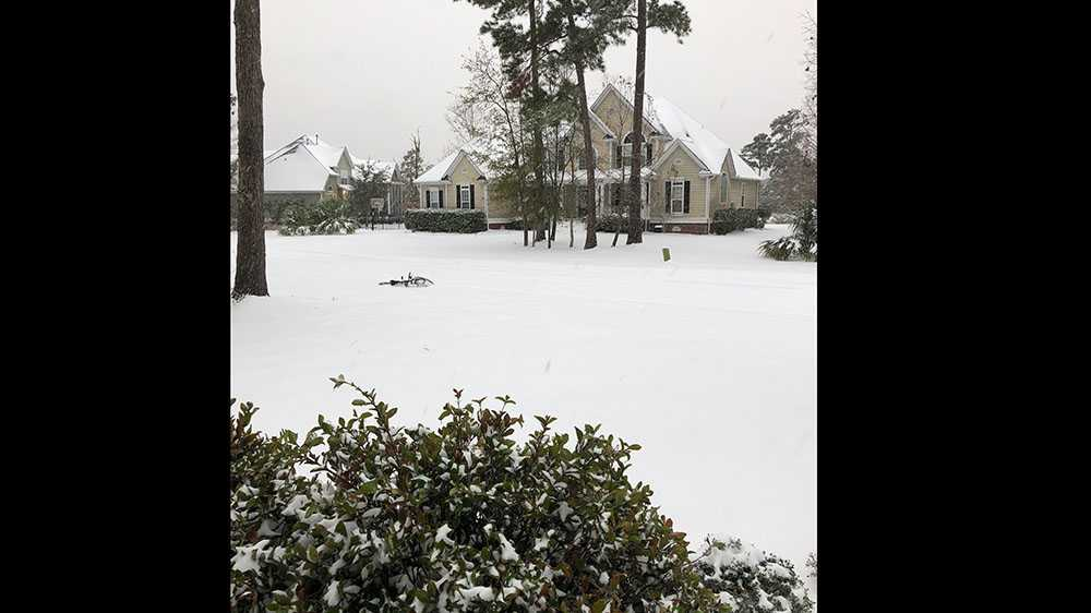 Snow in Mount Pleasant