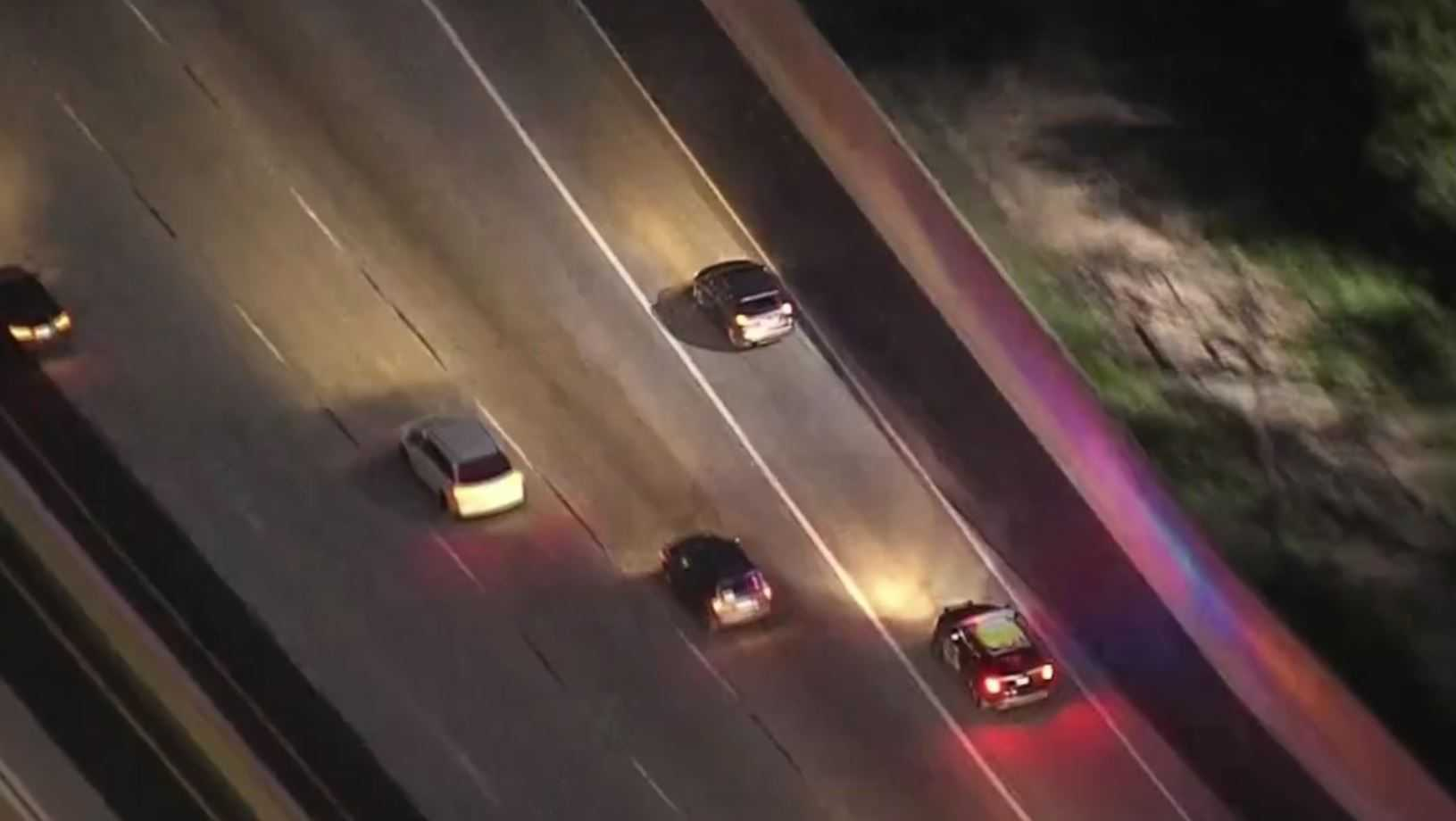 Car chase on Feb. 25, 2017 in Orange County area