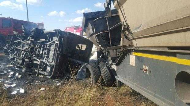 About 20 schoolchildren killed in South Africa bus crash