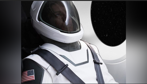 Elon Musk unveils first image of futuristic space suit