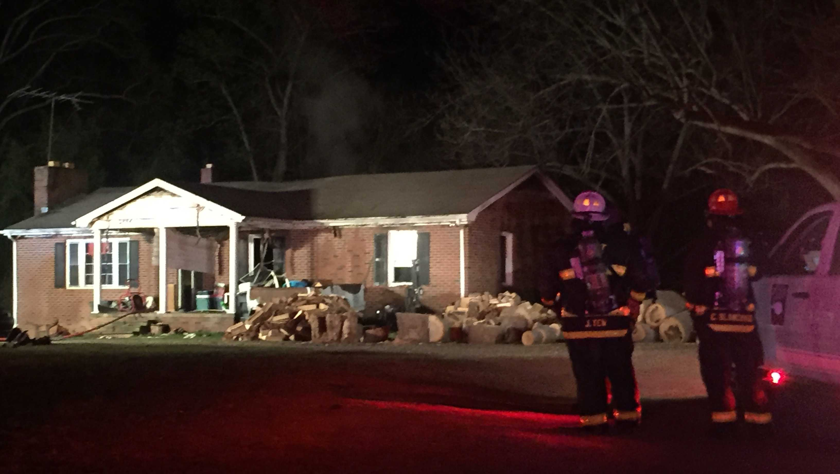 Carolina Country Club Rd house fire