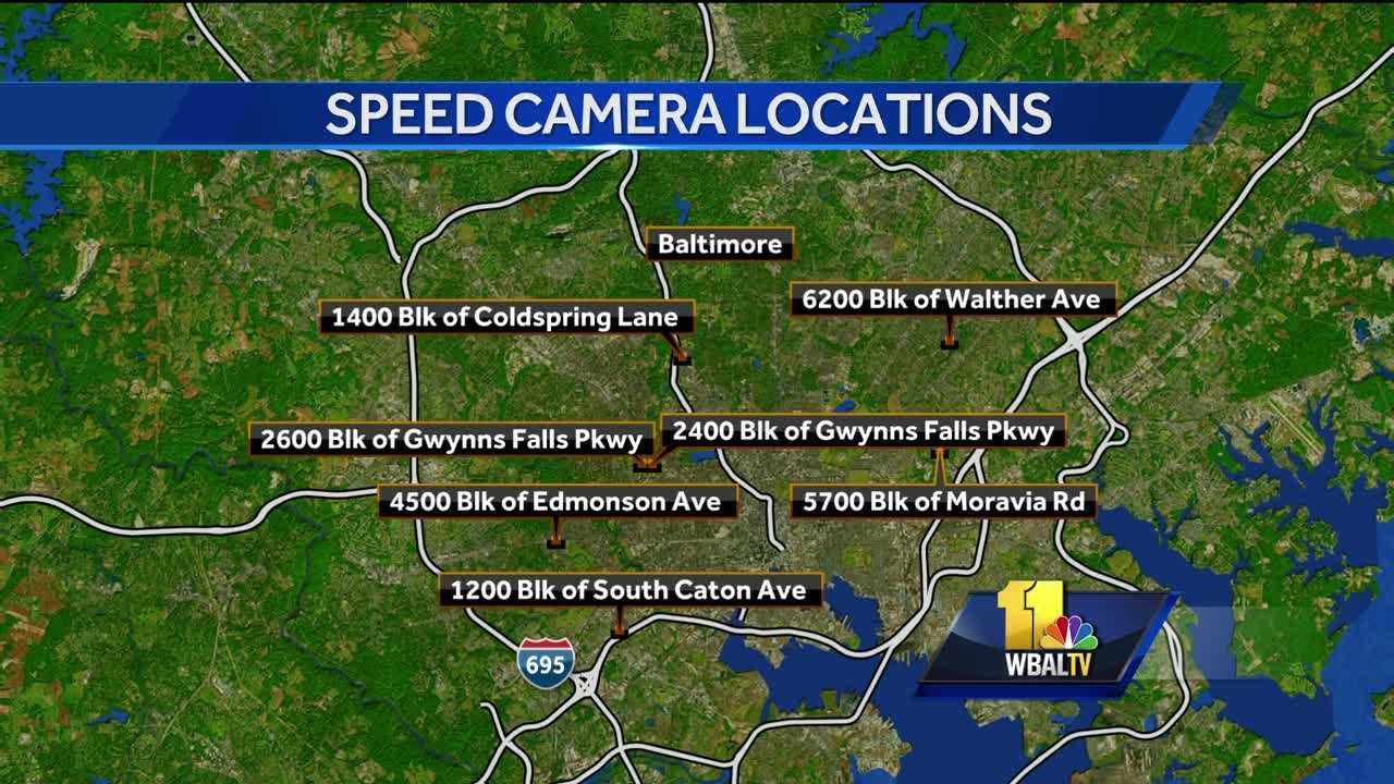 speed camera map