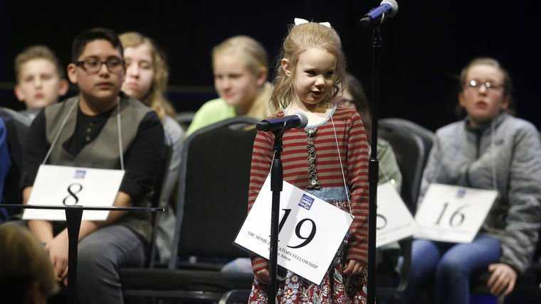 This year, 5-year-old Edith Fuller will be the youngest person ever to compete at the spelling bee, Scripps spokeswoman Valerie Miler said.