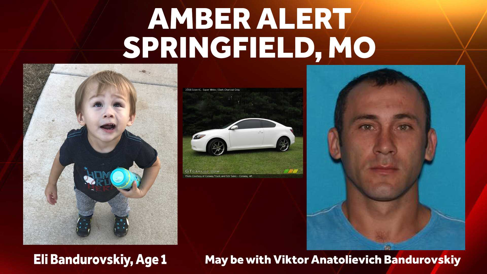Parental Abduction of 1-year-old