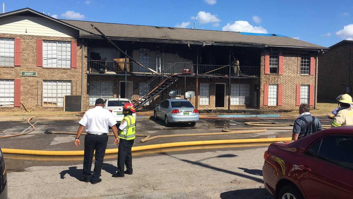 Springville Landing Apartment fire