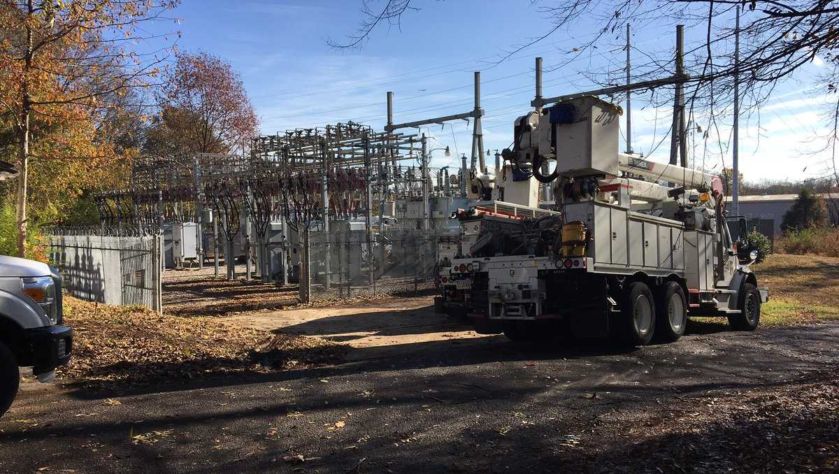 Squirrel power outage west Birmingham