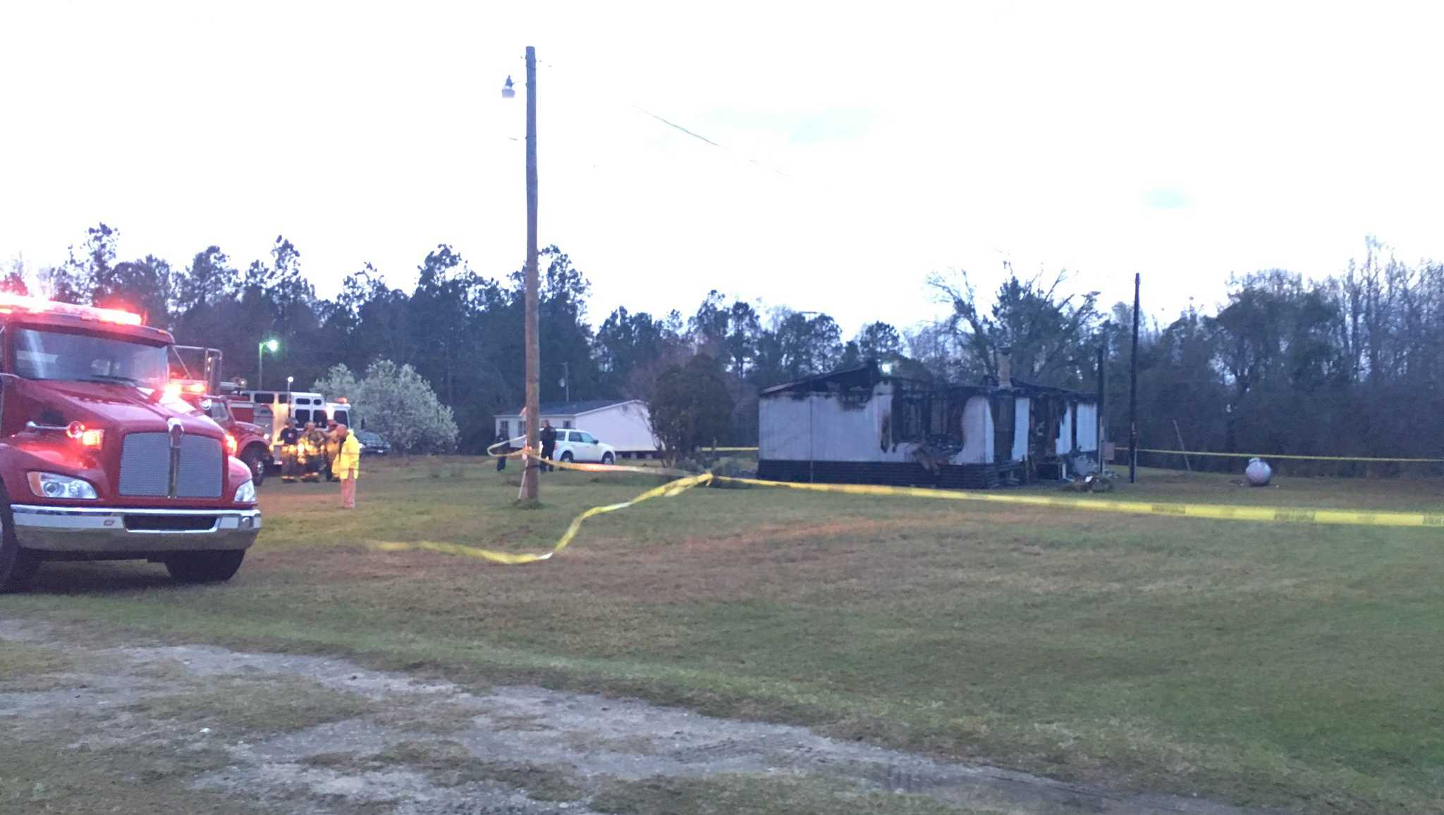 St. Stephen mobile home fire