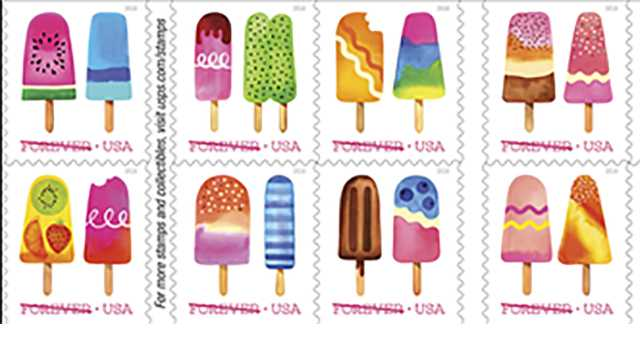 The U.S. Postal Service is issuing its first scratch-and-sniff stamps