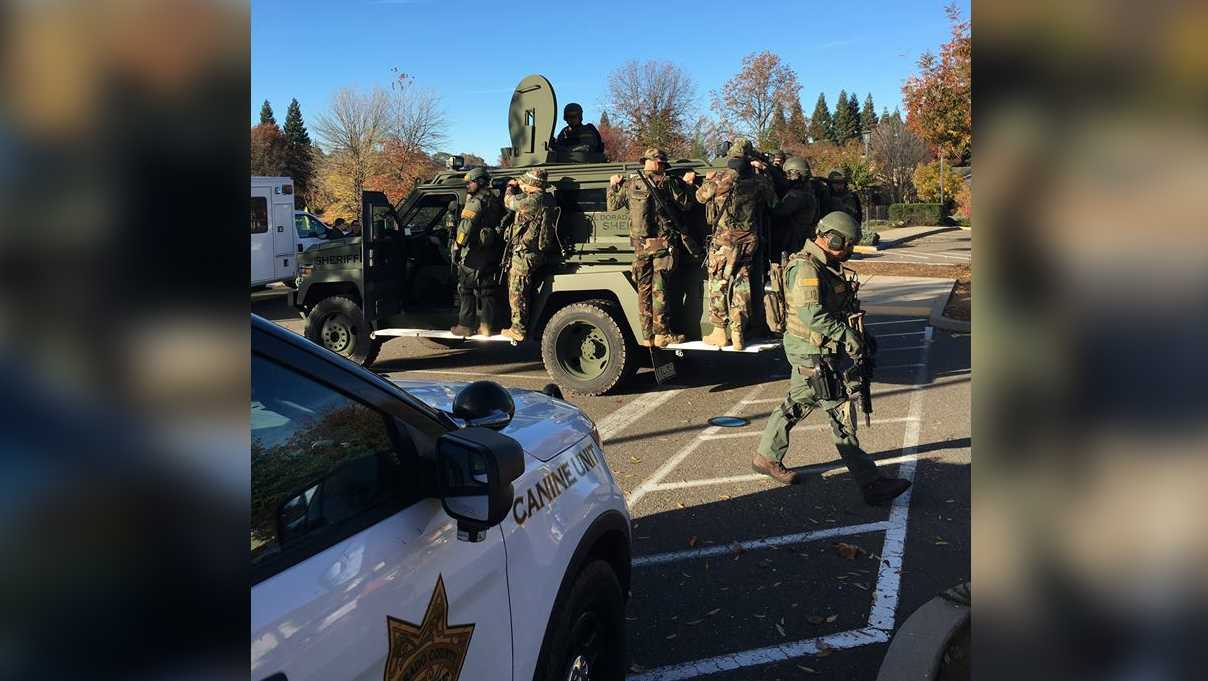 Deputies and SWAT were at the scene of an hours-long standoff Thursday, Nov. 17, 2016, in Cameron Park, the El Dorado County Sheriff's Office said.