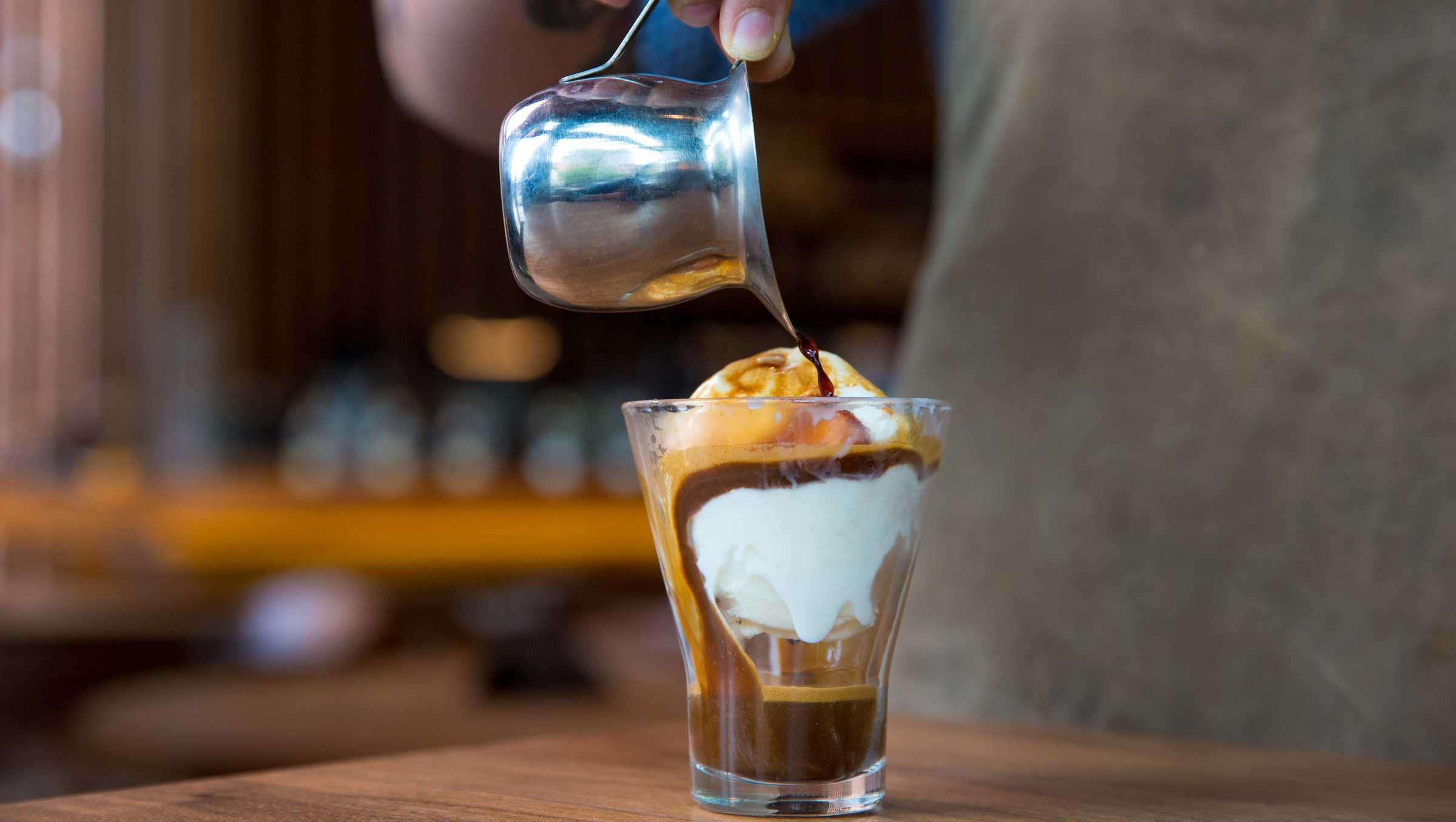 Roastery Ice Cream - Classic Affogato