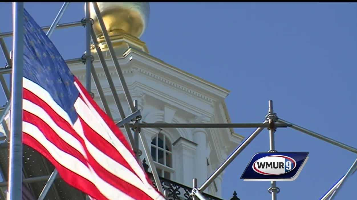 State House with flag