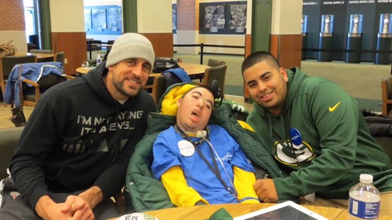 Steven Barron, Green Bay Packers, Make-A-Wish