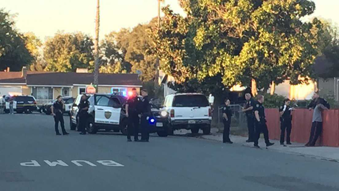 Stockton shooting Ledgewood Avenue
