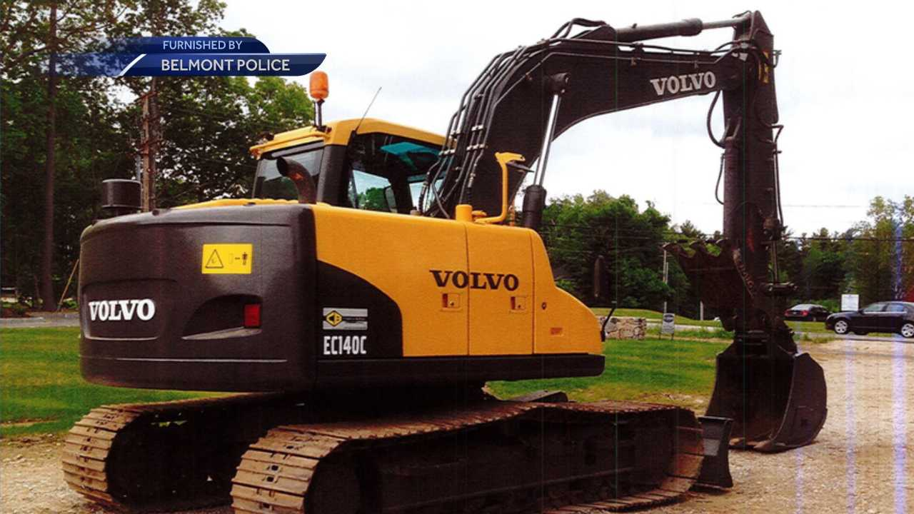 Excavator stolen from Belmont worksite