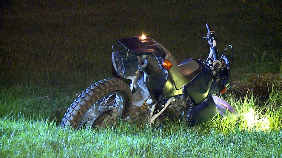 Stolen motorbike