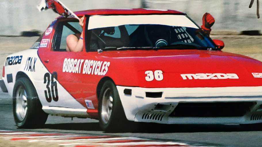stolen racecar