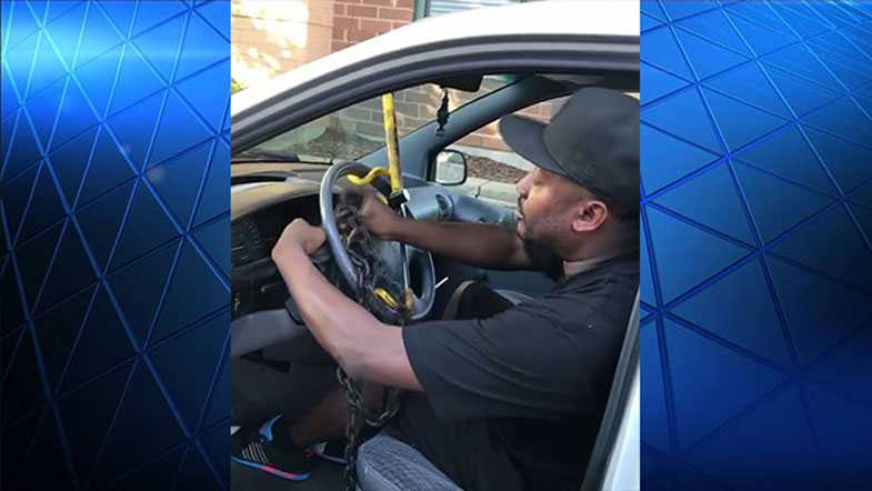 Milwaukee man stands up to car thieves with humor - WISN Milwaukee