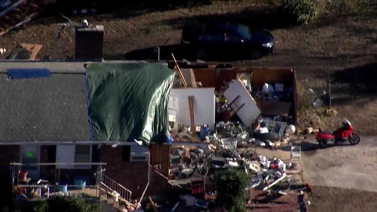Storm damage from Sky 4