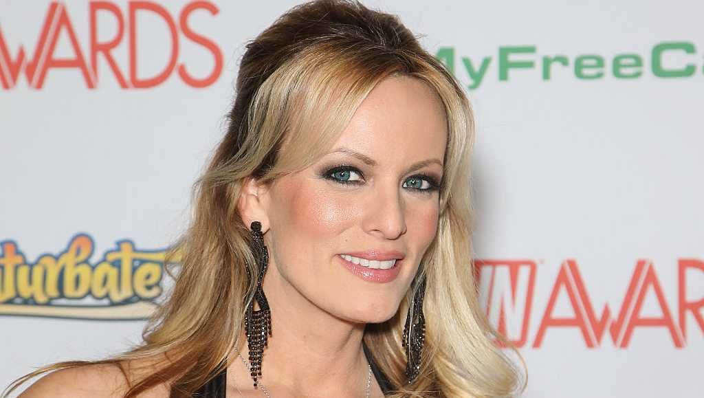 Adult film actress/director Stormy Daniels attends the 2017 Adult Video News Awards at the Hard Rock Hotel & Casino on January 21, 2017 in Las Vegas, Nevada.