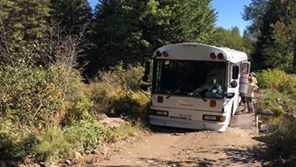 stranded bus