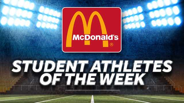 Student athletes of the week
