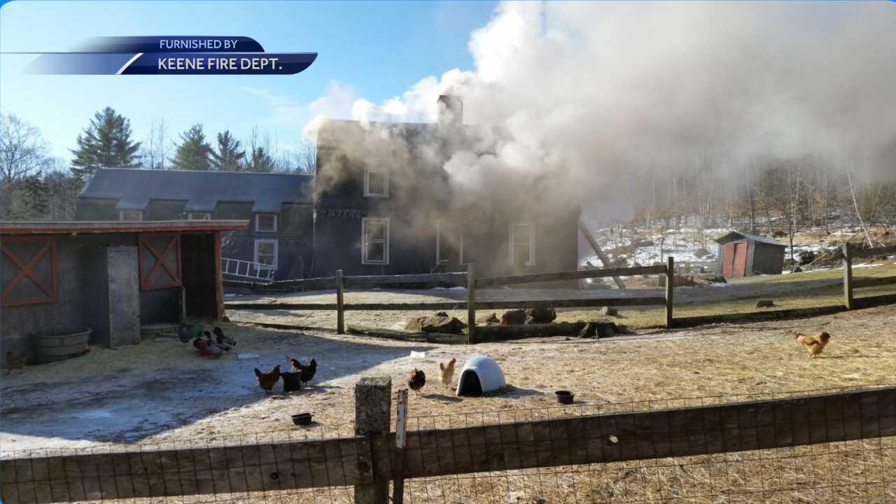 Fire in Sullivan