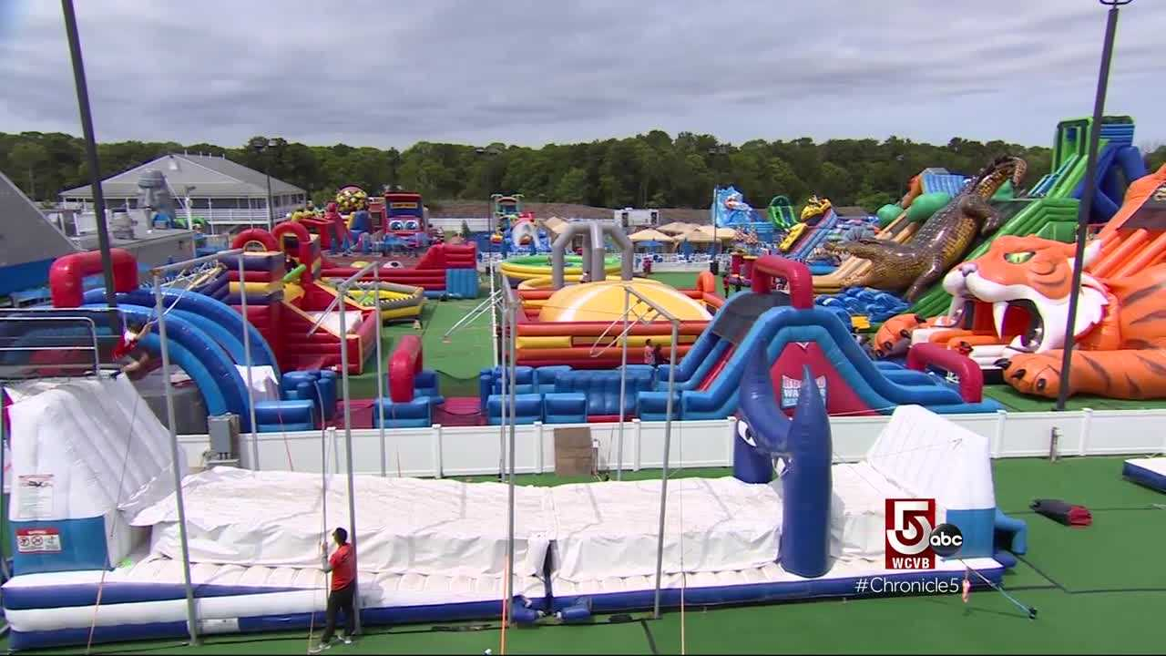 summer fun inflatable park