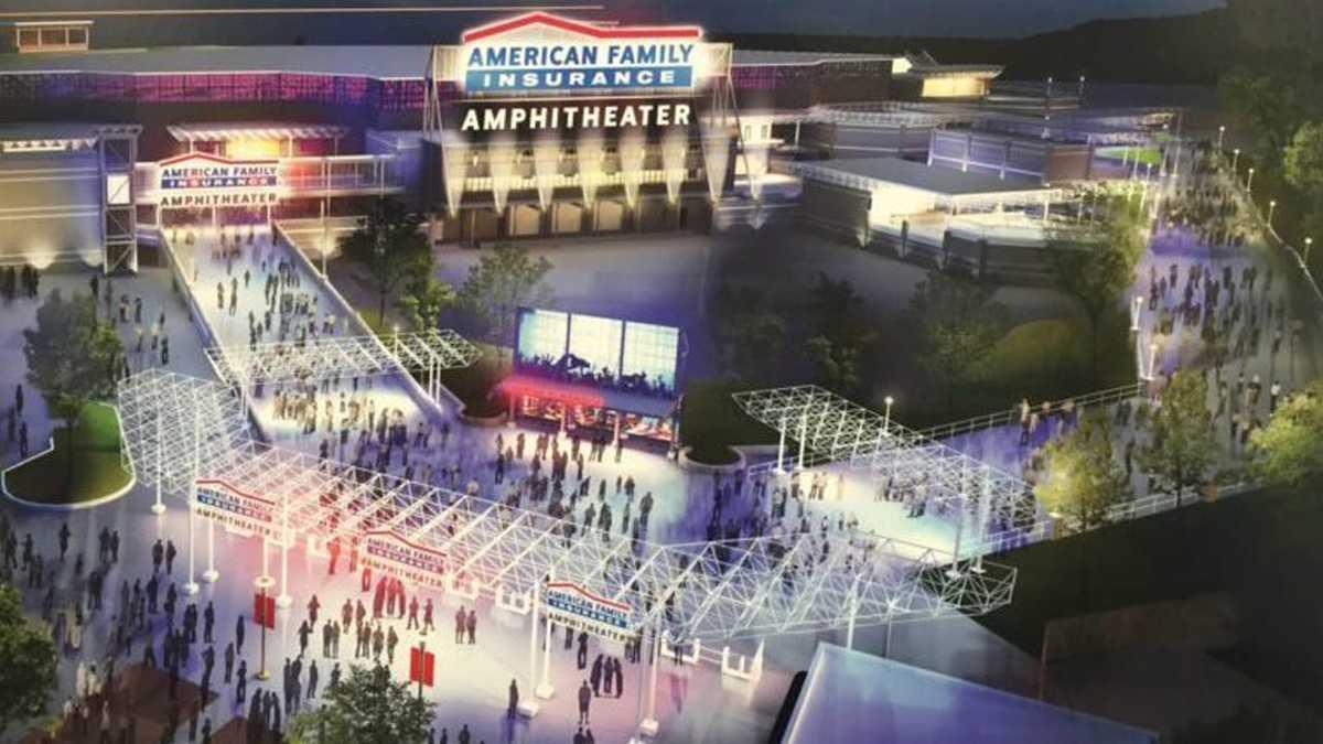 Summerfest announces new name, new amphitheater