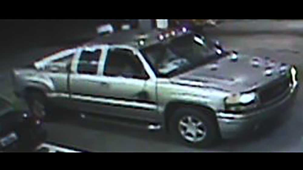 Hit and Run suspect's truck