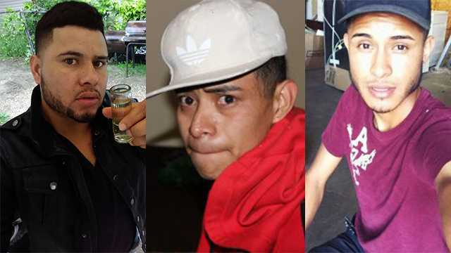 Nationwide arrest warrants have been issued for Contreras, Adiel, and Ramos on two counts of kidnapping and rape.