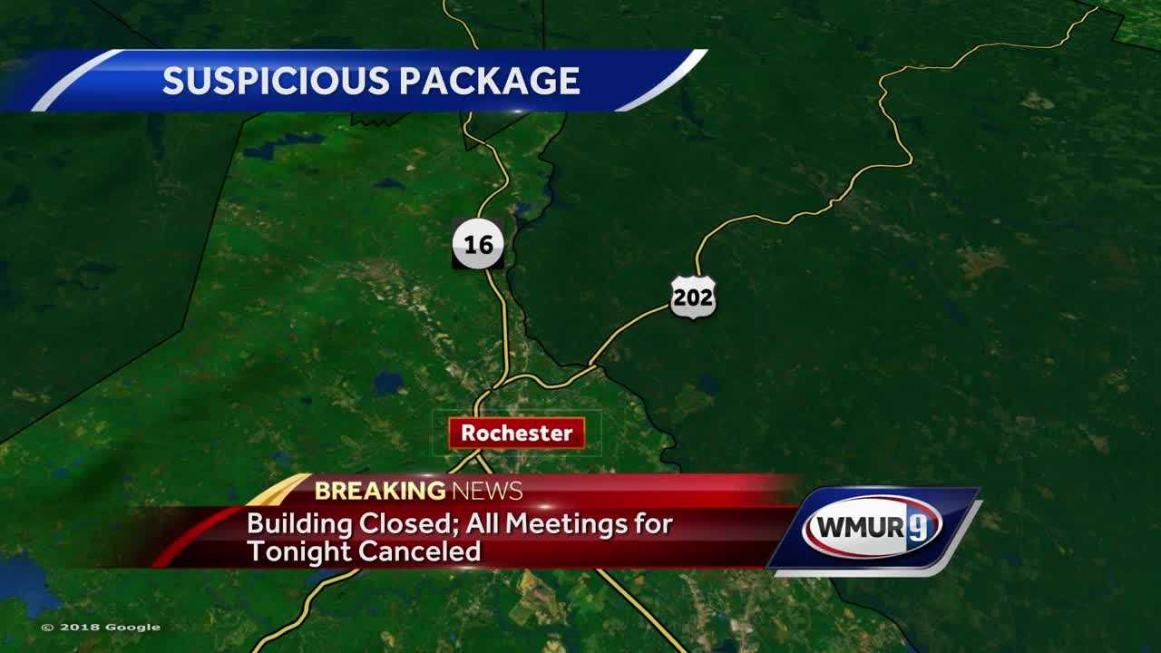 Suspicious package Rochester